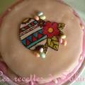 Gâteau de pâques aux fraises