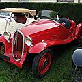 Fiat 508 s balilla sport spider 1934-1937