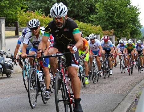 UFOLEP CHAMPIONNAT FRANCE CYCLISME 2015 Luigino Chiarapp second
