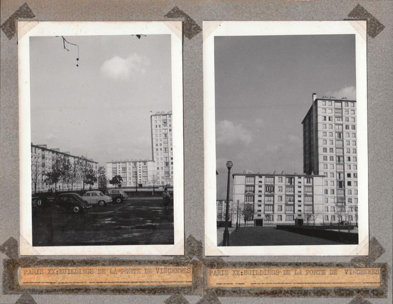 La Porte de Vincennes en 1963 - Jardins da ko T