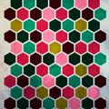 motif hexagones