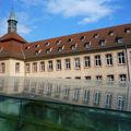 Strasbourg, l'ancienne commanderie de l'ordre des hospitaliers de saint-jean. xivème siècle.