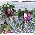 Fabriquer soi même ses fleurs en papier : tutoriel n°3, réaliser ses fleurs de fuchsia en papier et ses feuillages