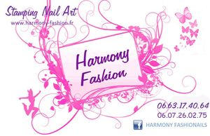 Carte Visite Harmony Fashion1