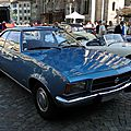 Opel rekord d 1900 automatic coupe 1972-1977