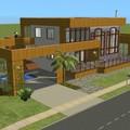 Villa moderne : béton et bois