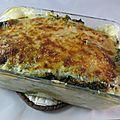 Lasagnes de chou vert aux 2 saumons