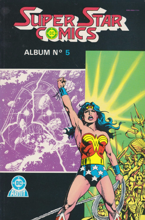 arédit super star comics album 05