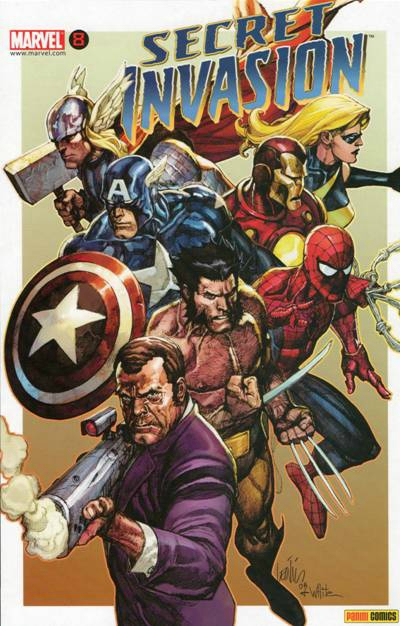 panini secret invasion 8