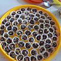 Chocolats maison : les chocolats de mamie bleue