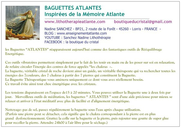 baguettes atlantes