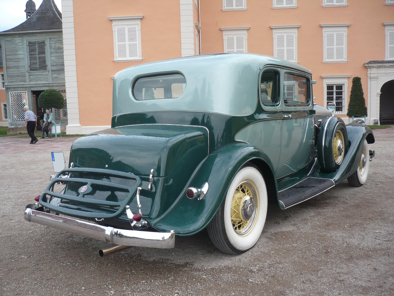 PIERCE ARROW 836 Club Brougham 2door Sedan 1933 Schwetzingen (2)