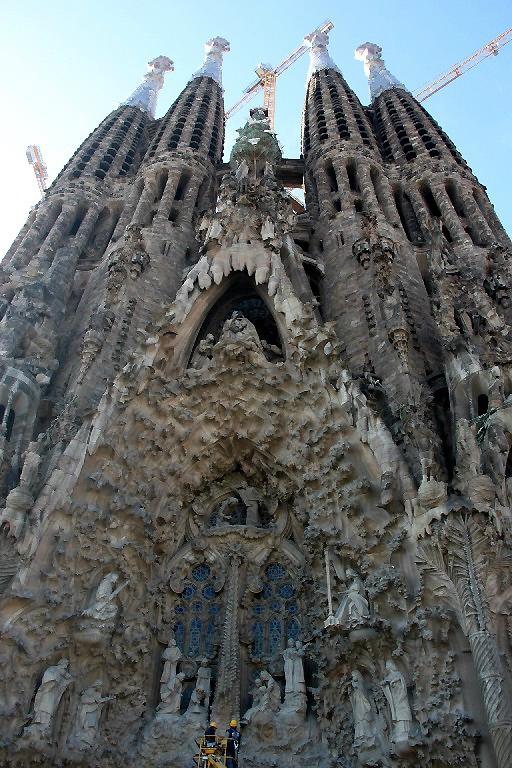Barcelone, Basilica Sagrada Familia_6789