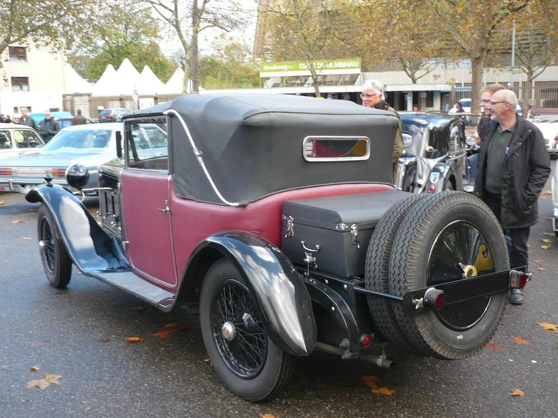 BALLOT 2LTS cabriolet Figoni 1927 Strasbourg (2)