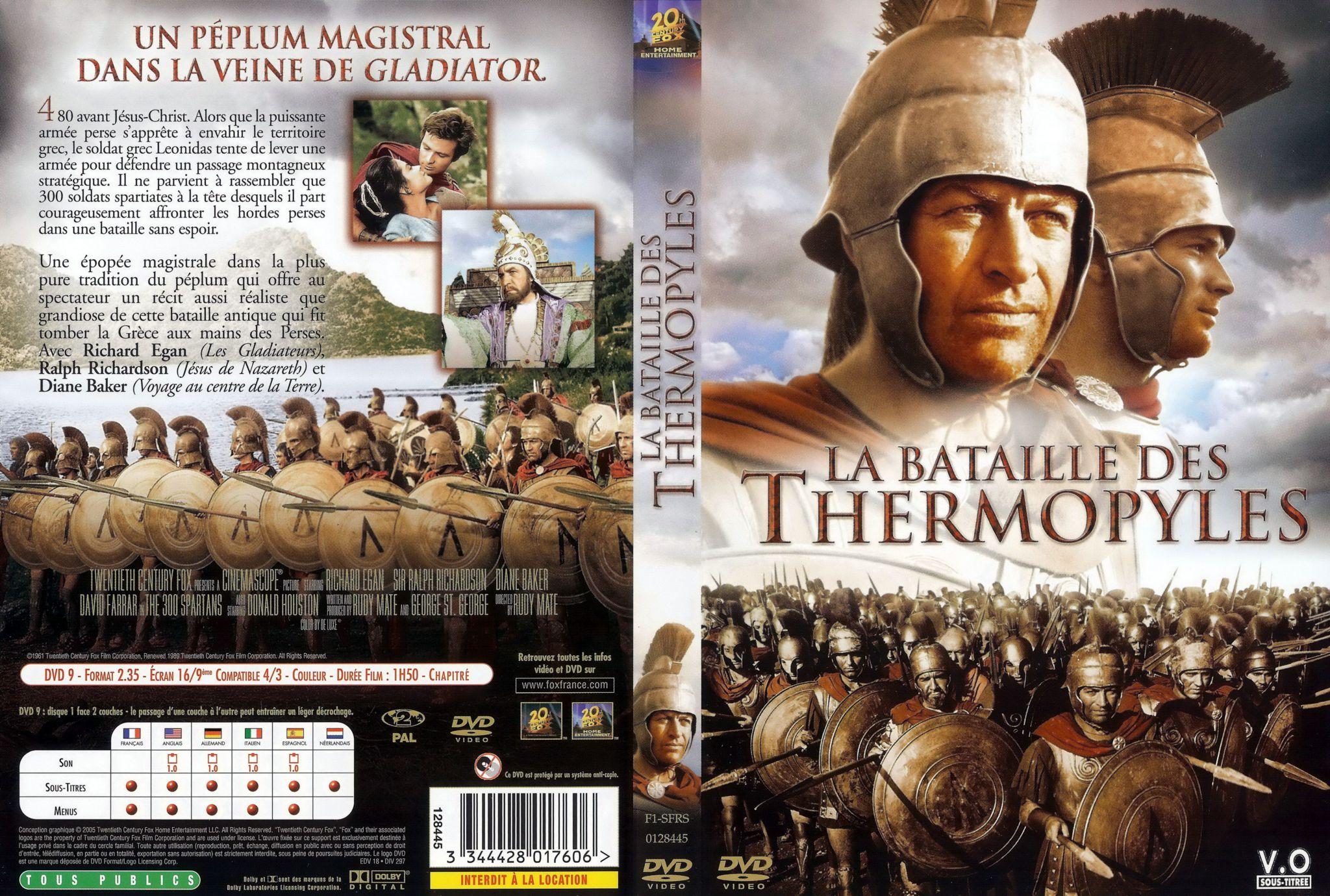 la bataille des thermopyles 1962