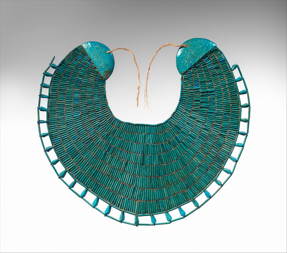 Egyptian Jewelry from 'The Body Transformed' At The Met Fifth Avenue