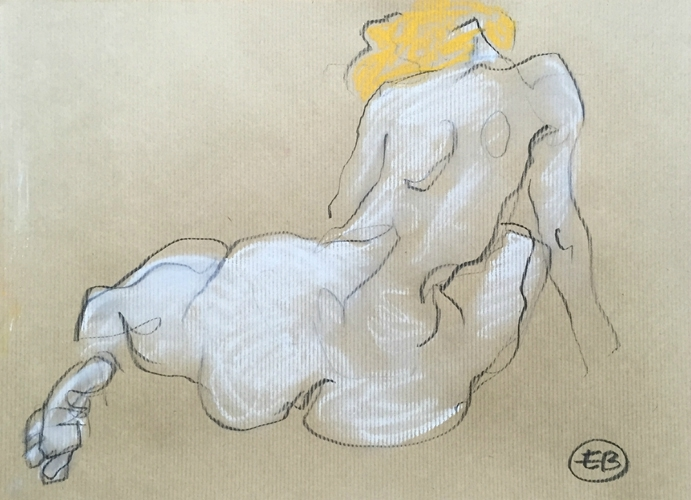 #croquisdenu modele vivant living model Etienne Bonnet Croquis nu dessin peinture Golden Blog Awards nude drawing sketch B IMG_1107