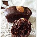 Bouchées cacaotées aux noisettes