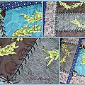 Challenges 2013 - mai - pochette mimosa