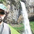 Jénorme à la cascade de Salins