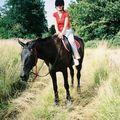 Noursette fait du cheval