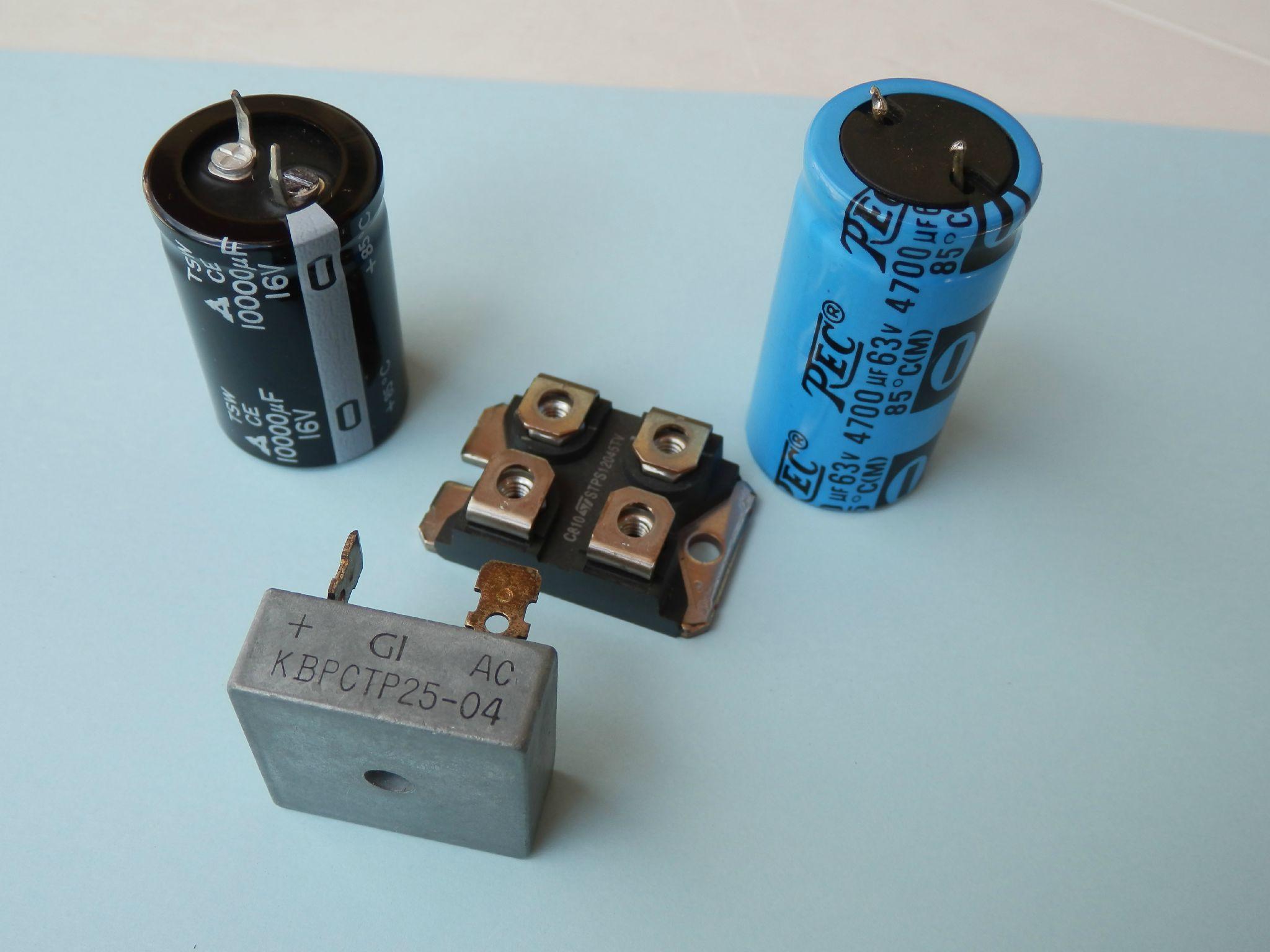 Condos et Ponts de diode