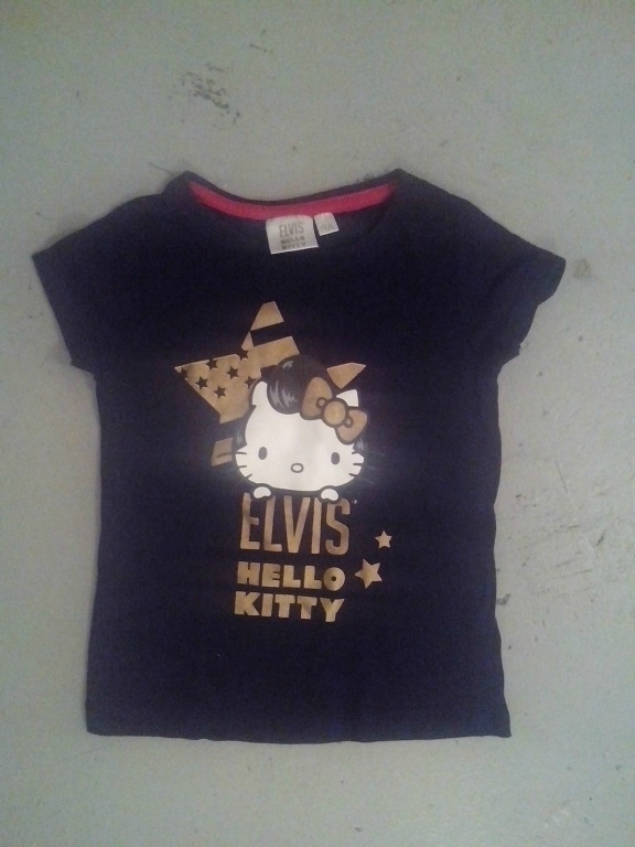 tee-shirt Elvis Hellon Kitty