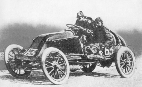 1903 paris-madrid - marcel renault (renault 30hp) crashed fatally at théry 1