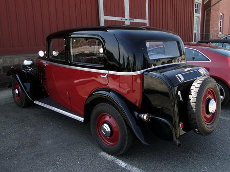 MATHIS Type EMY4 Berline 1934 Critérium Jean-François Blattner 2011 b