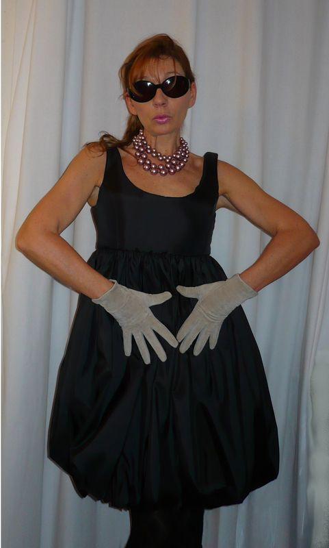 robe boule noire2