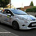 Ford fiesta R2 n°108 (Kaur-Lepikson) (Rallye de France 2011) 01