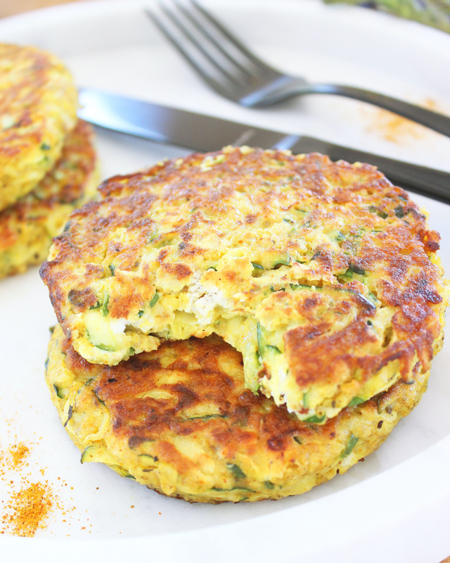 Galettes Courgettes 2