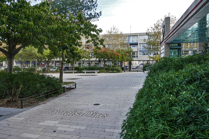 Le Havre place Jules Ferry France