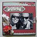 Carte pochette (mariage)
