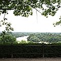 La vue devant le Roebuck, en haut des Terrace Gardens