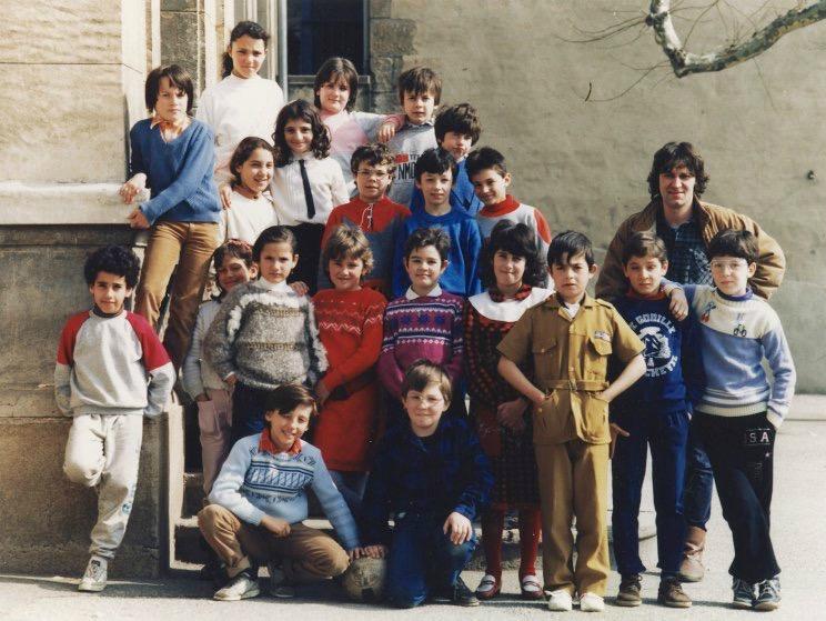 école Lavieu 1985