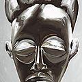 Pow tchokwé, coiffure en couronne en hommage à jean-michel basquiat.