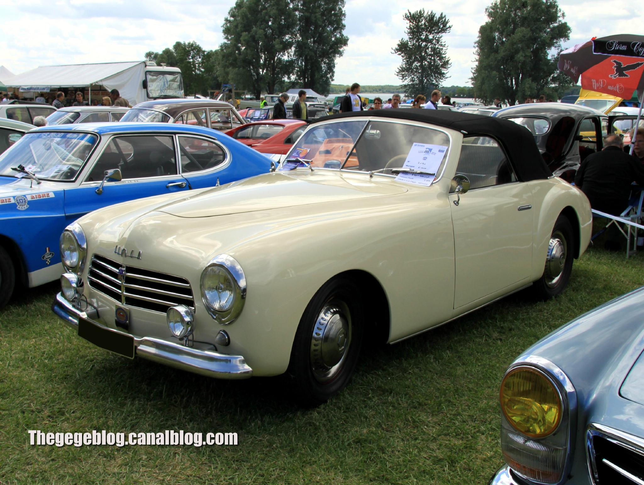 Simca 8 sport cabriolet de 1950 (Retro Meus Auto Madine 2012) 01