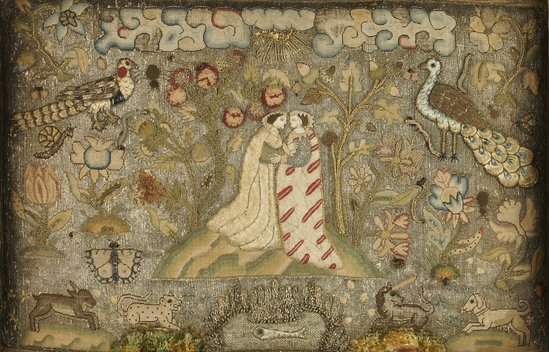 Textile-Panel-with-Embracing-Figures-c