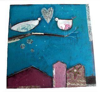 Les+oiseaux+amoureux+30x30_