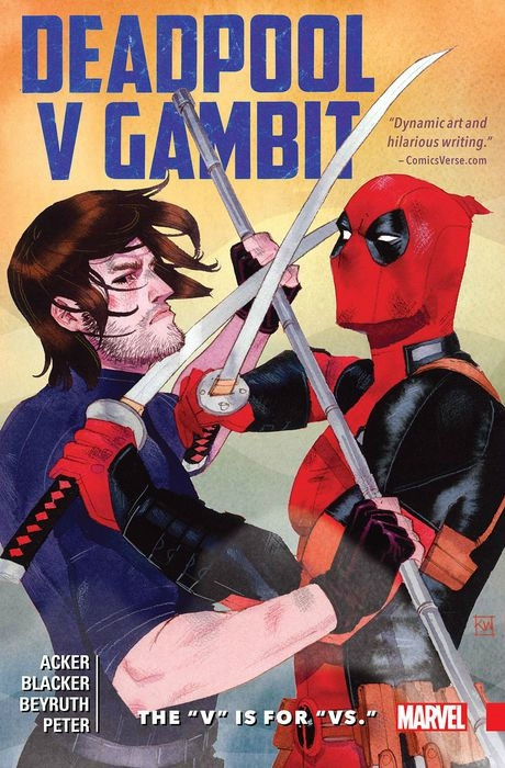deadpool v gambit the v is for vs TP