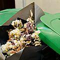 February's dead flowers