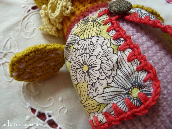 78 Cape poupée crochet robe