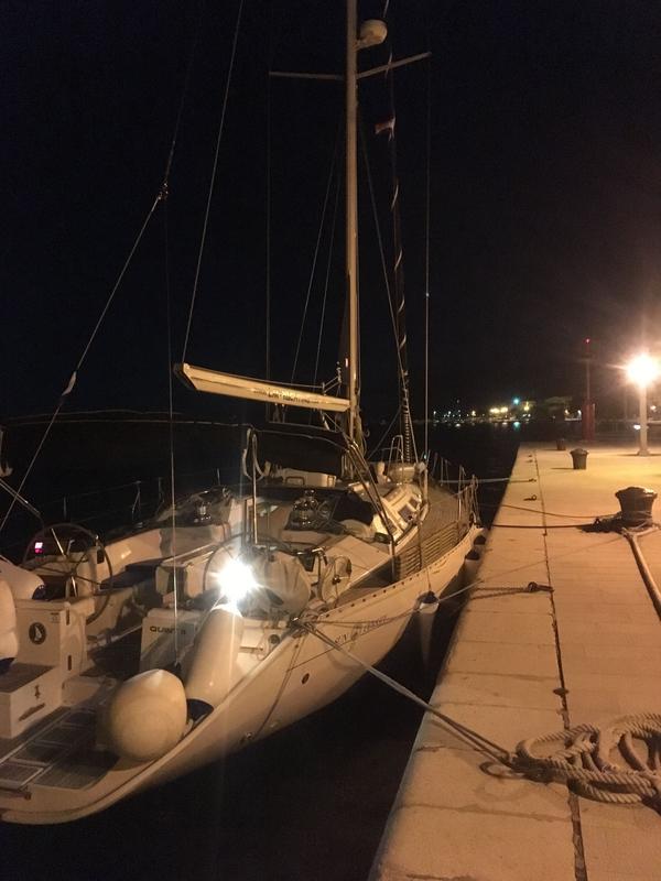 Pag, arrivée au port, 8 mars 2020 (2)
