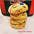 Cookies américains au magimix