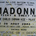 Madonna : son concert à nice, le sticky and sweet tour