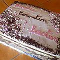 Gâteau anniversaire (Napolitain)