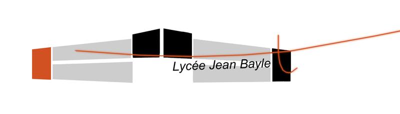 logo lycée Jean Baylet