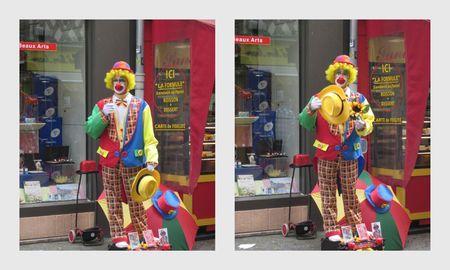 rouen mon clown