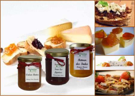 chutney et fromage